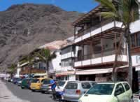 Los Gigantes Shops and Restaurants facing Marina