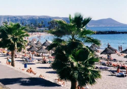 Los Cristianos Beach Photograph