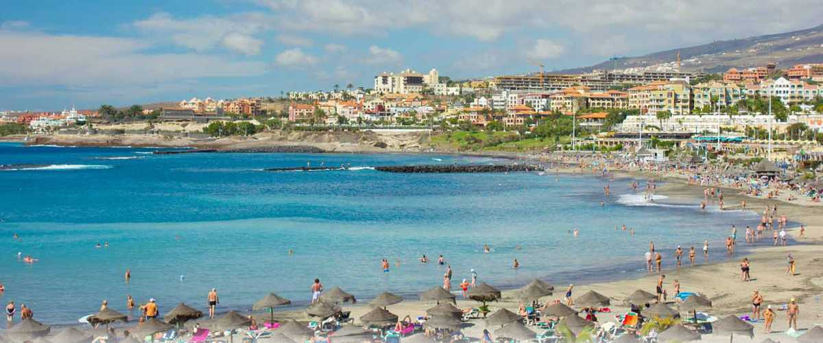 Playa de las Americas Map Information Tenerife Canary Islands Spain