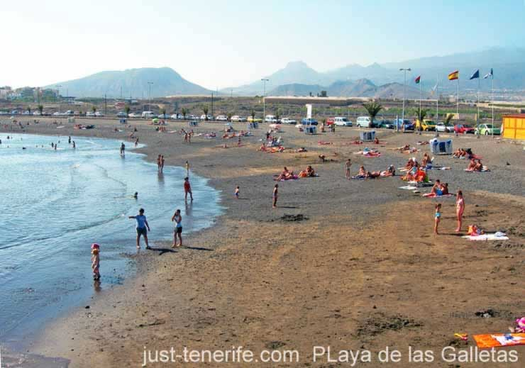 Las Galletas Map Information Arona Tenerife Spain