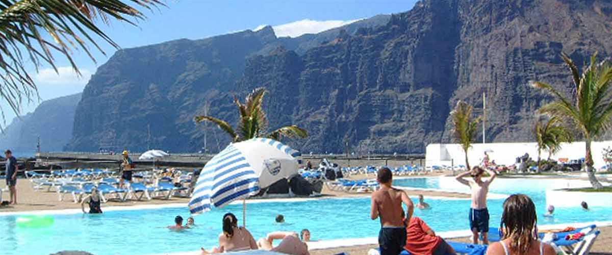 Tenerife Resorts Los Cristianos Playa de las Americas Puerto de