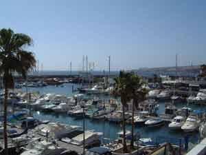 Puerto Colon Map Tourist Guide Costa Adeje Tenerife Canary
