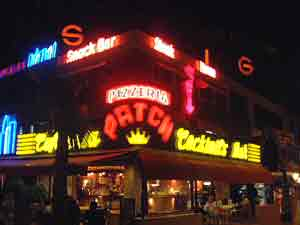 Playa de las Americas - The patch restaurant and area called 'The Patch'